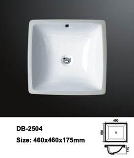 Square Undermount Sink